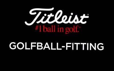 TITLEIST Golfball-Fitting